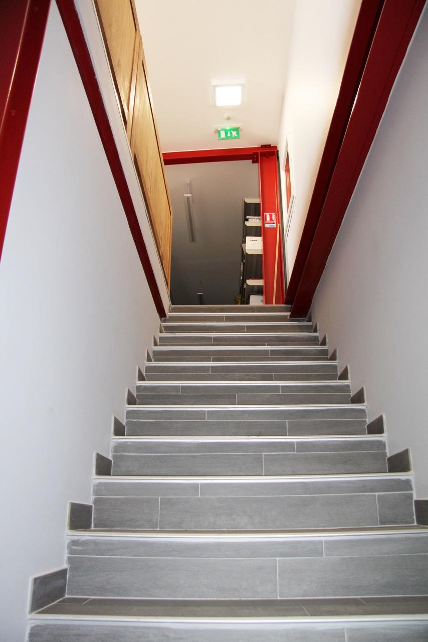 Bureau-escalier