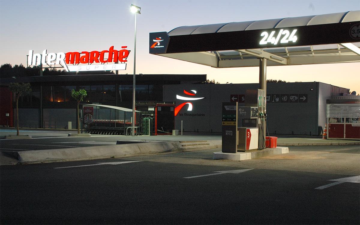 Eclairage-station-service